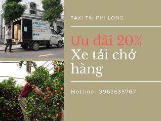 Dịch vụ vận chuyển hàng Tết tại xã Tàm Xá