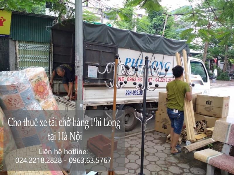 Hãng xe tải chở hàng Phi Long phố Cao Thắng