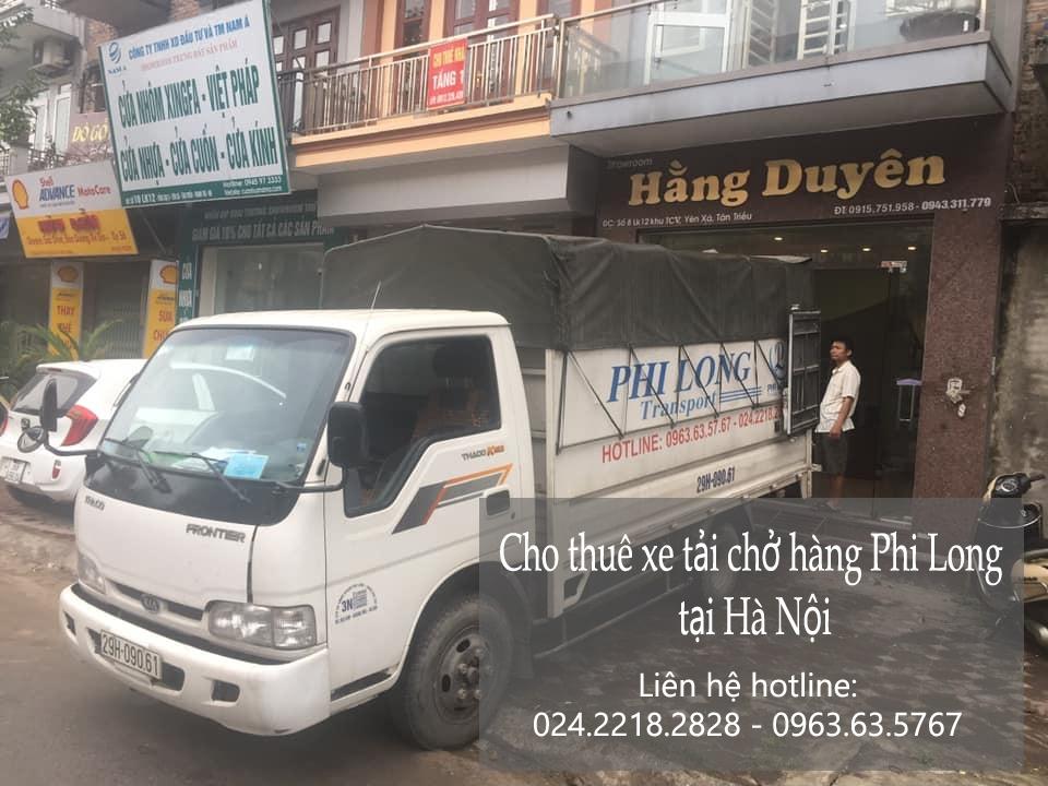 Hà Nội taxi tải chuyên nghiệp phố Cầu Đất