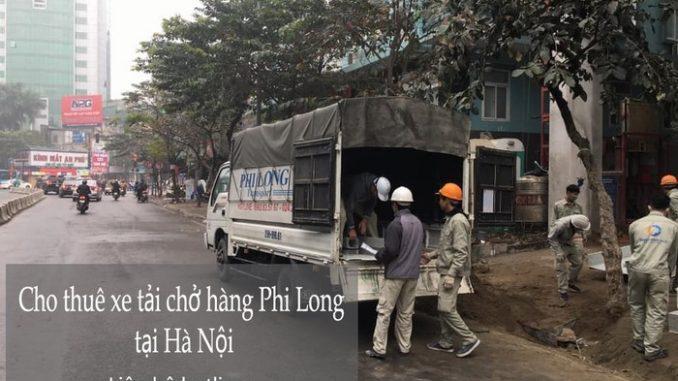 Taxi tải chở hàng hóa Phi Long phố Ấu Triệu
