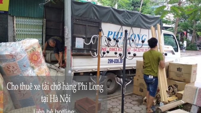 Taxi tải Hà Nội chất lượng cao Phi Long phố Điện Biên Phủ