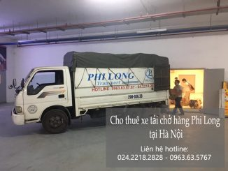 Dịch vụ cho thuê xe tải tại xã Hồng Hà