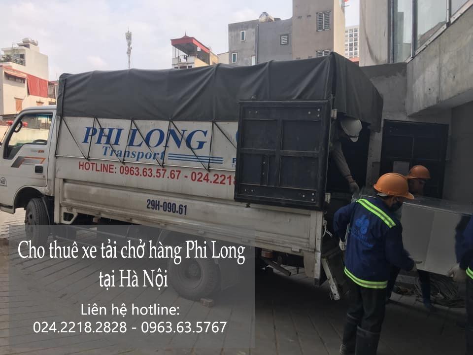 Hà Nội taxi tải giá rẻ phố Chương Dương