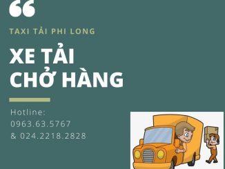 Dịch vụ taxi tải tại xã Hồng Thái