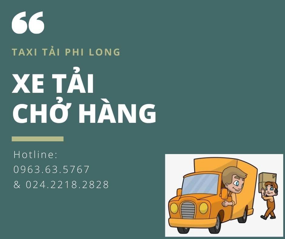 Taxi tải Hà Nôi chất lượng phố Lạc Long Quân