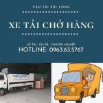 Dịch vụ taxi tải Hà Nội tại xã Văn Hoàng