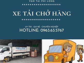 Dịch vụ taxi tải Hà Nội tại xã Văn Nhân