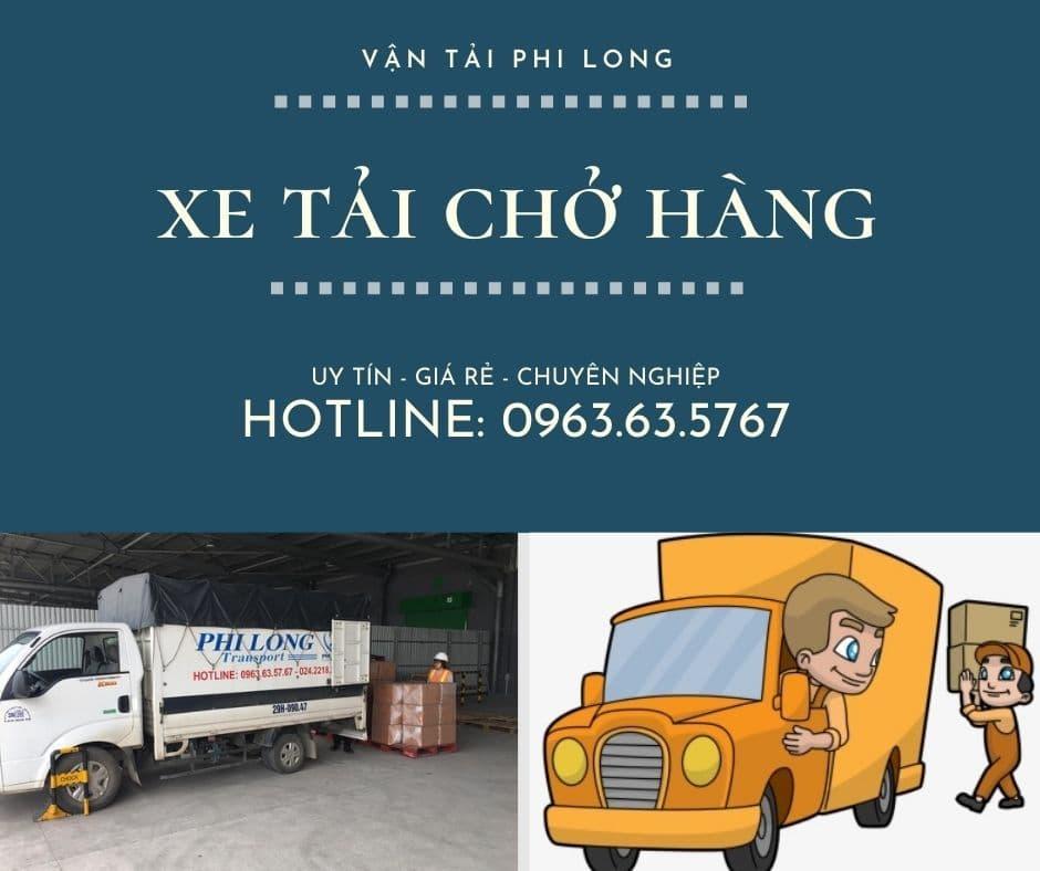 Dịch vụ taxi tải Hà Nội tại xã Phú Túc