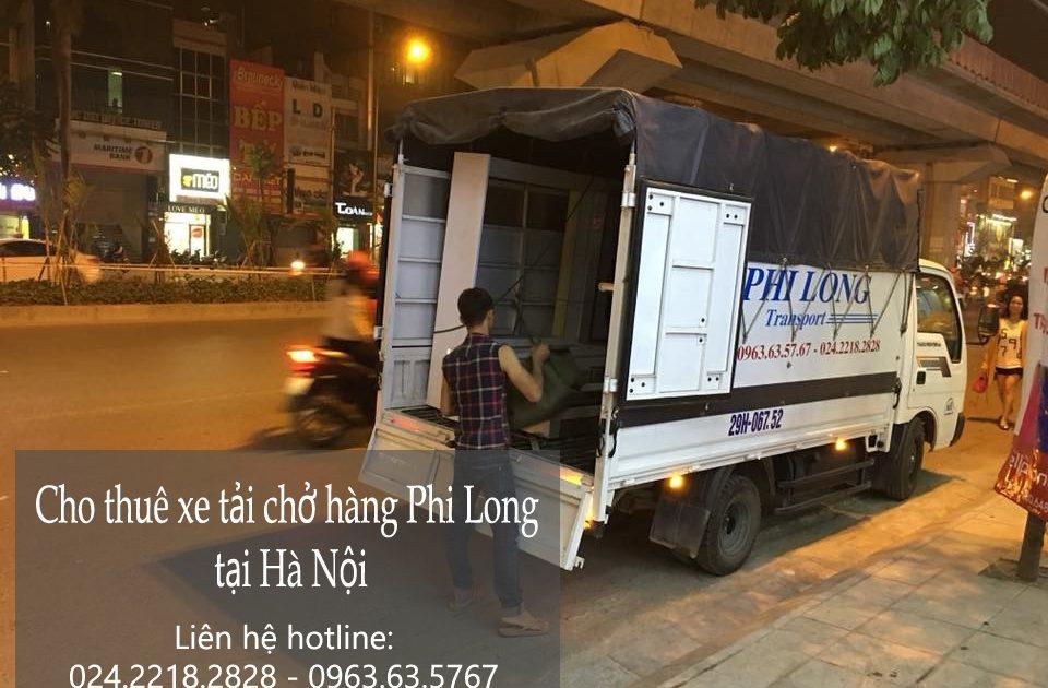 Dịch vụ taxi tải Phi Long tại xã canh nậu