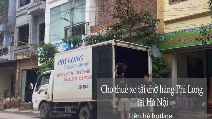 Dịch vụ taxi tải Hà Nội tại đường Tu Hoàng