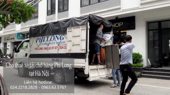 Dịch vụ taxi tải Hà Nội tại đường Tây Trà