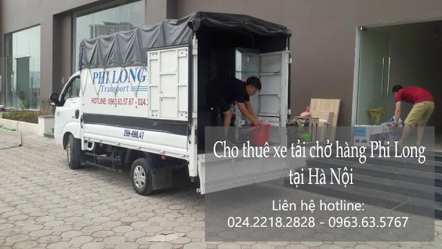 Dịch vụ taxi tải Hà Nội tại đường Trần Văn Cẩn