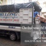 Dịch vụ taxi tải Phi Long tại đường Sa Đôi