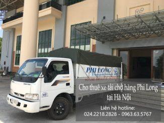 Dịch vụ taxi tải Hà Nội tại đường phúc lợi