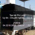 Dịch vụ taxi tải Hà Nội tại đường Quảng Bá