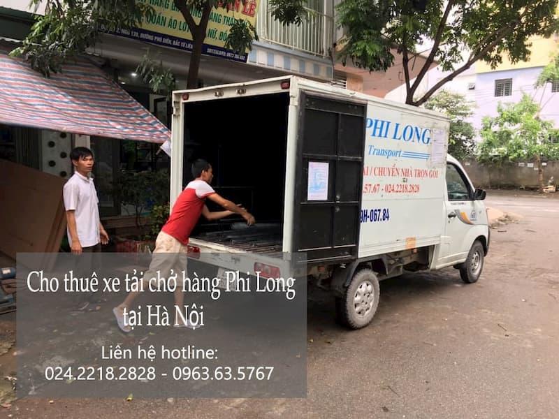 Dịch vụ taxi tải Hà Nội tại đường bắc cầu