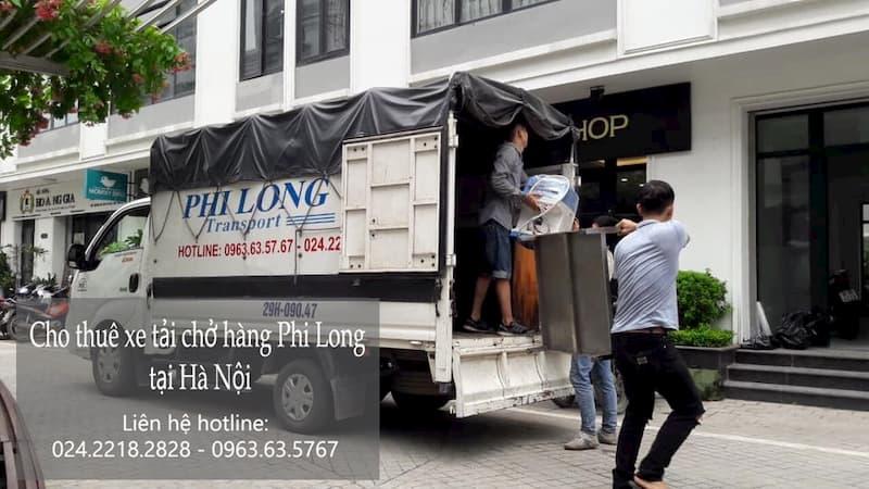 Dịch vụ taxi tải Hà Nội tại đường dương văn bé