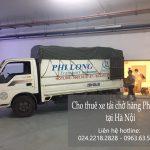 Dịch vụ taxi tải Hà Nội tại đường đàm quang trung