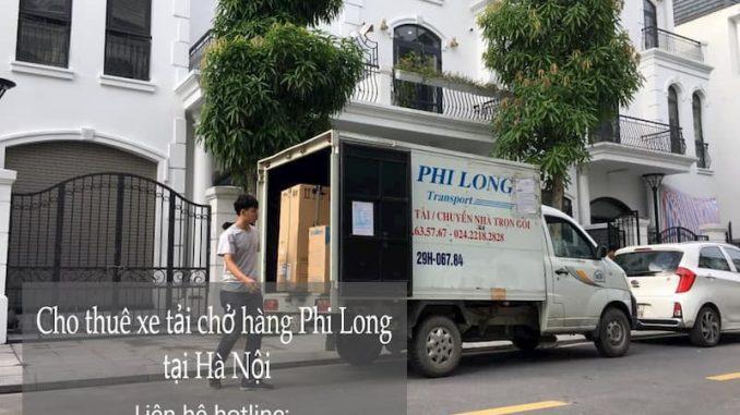 Dịch vụ taxi tải Hà Nội tại đường hoàng thế thiện