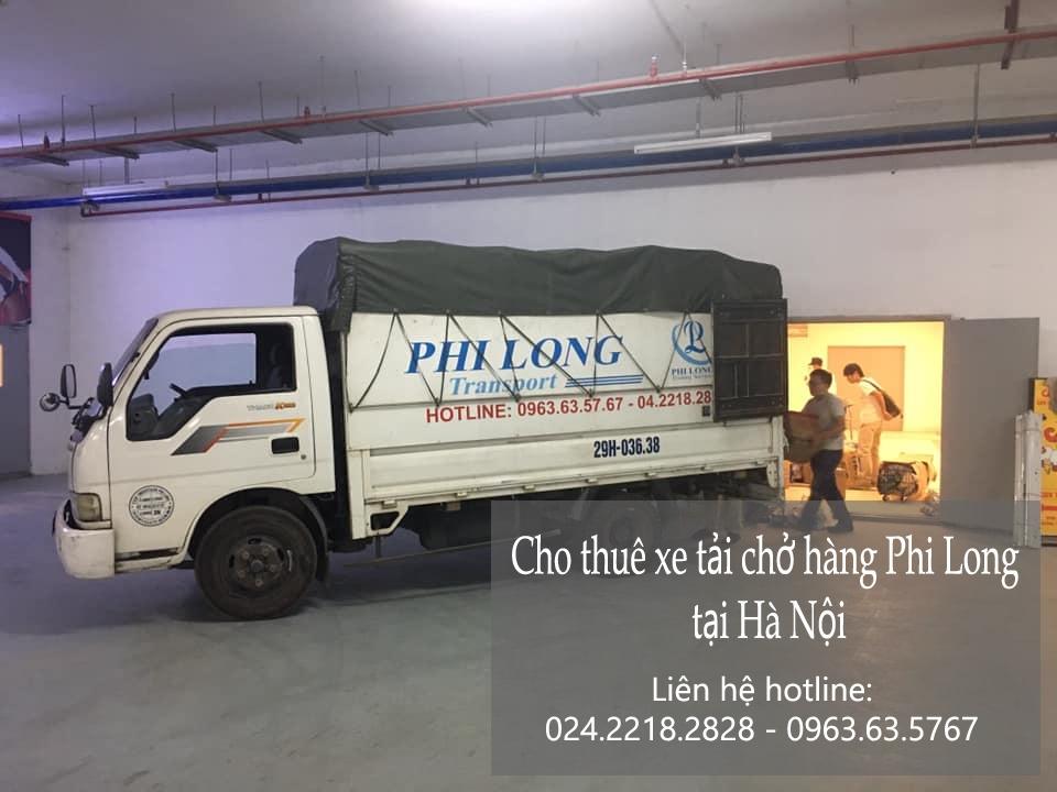 Dịch vụ taxi tải Hà Nội tại đường hoa lâm