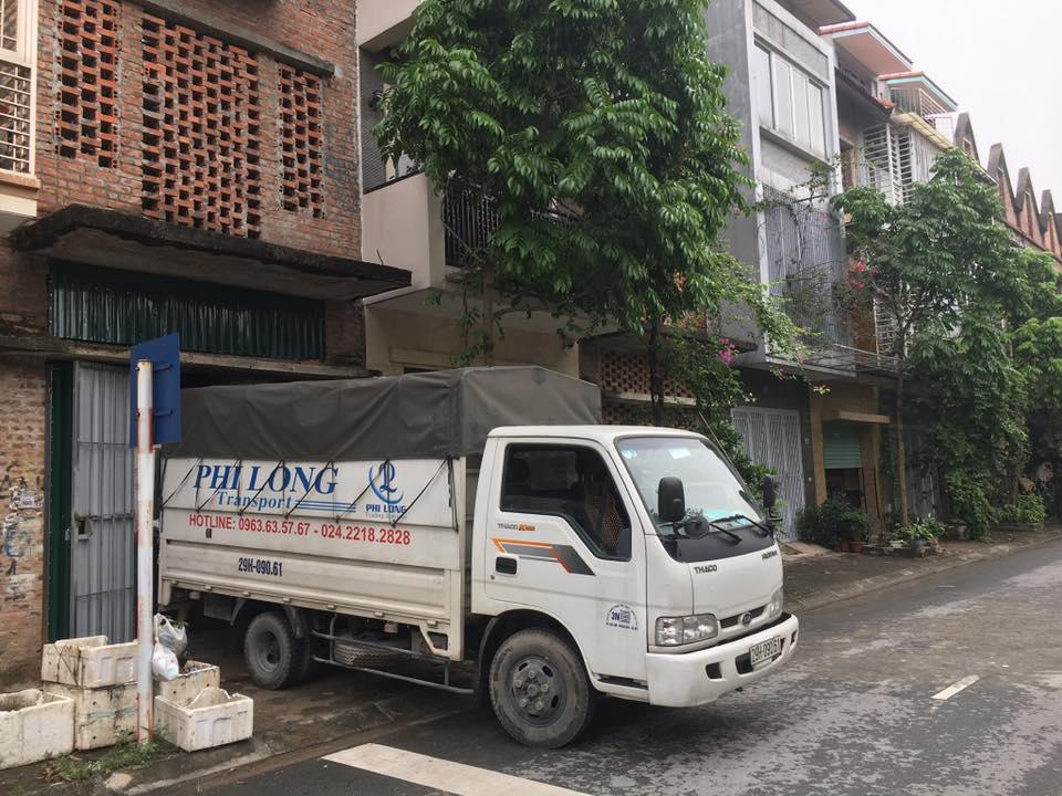 dịch vụ taxi tải tại đường hội xá