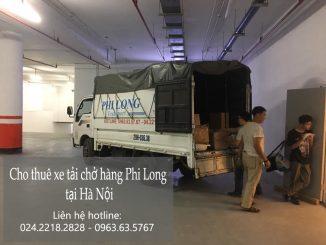 Dịch vụ taxi tải Hà Nội tại đường Nguyễn Trực