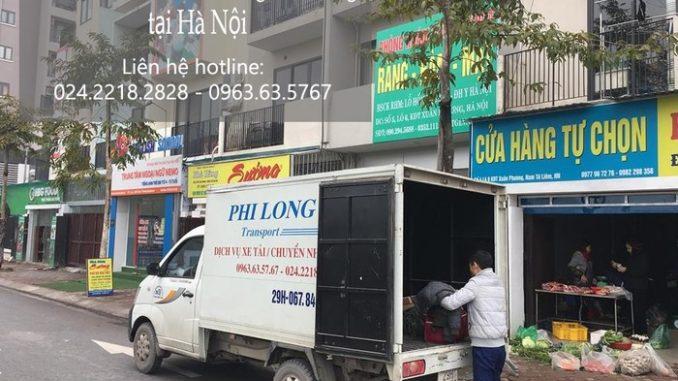 dịch vụ taxi tải phi long tại đường kẻ tạnh
