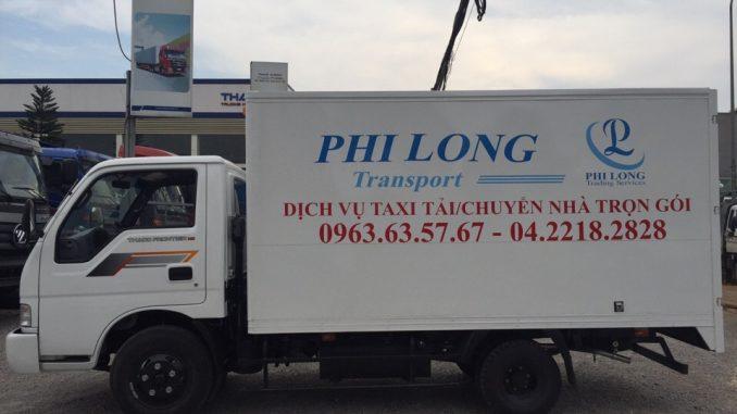 taxi tải hà nội Phi Long giảm giá sâu trong tháng 7