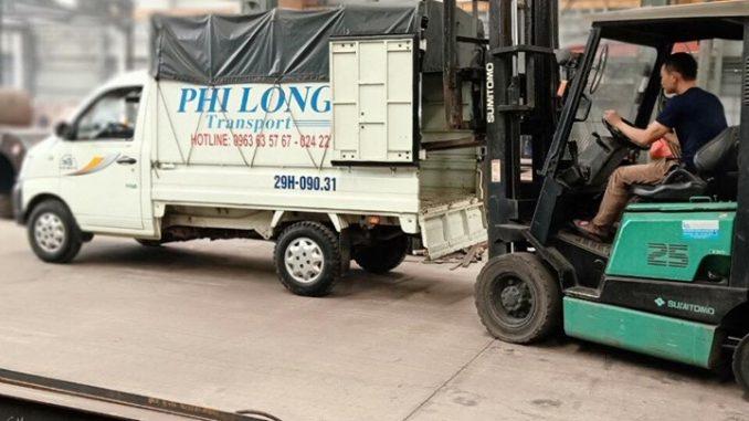 Dịch vụ taxi tải của công ty taxi tải tại hà nội Phi Long
