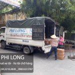 Taxi tải chở hàng tại đường Xuân Đỗ