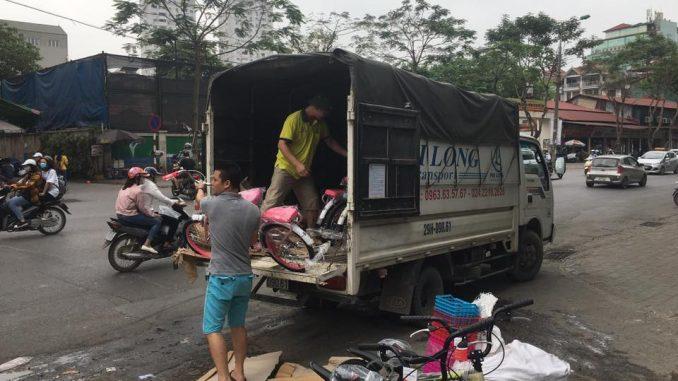 Dịch vụ taxi tải phố Nguyễn Thiếp đi Hải Dương