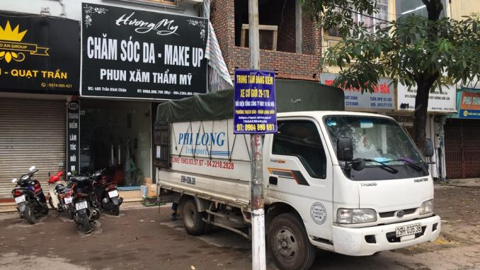 Dịch vụ taxi tải phố Thanh Bảo đi Hải Dương