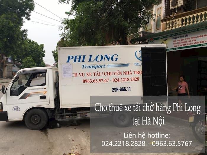 taxi tải chuyển nhà phố Ngọc Hà đi Hải Dương