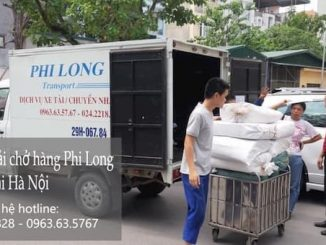 Xe tải chở hàng từ phố Giang Văn Minh đi Hải Dương