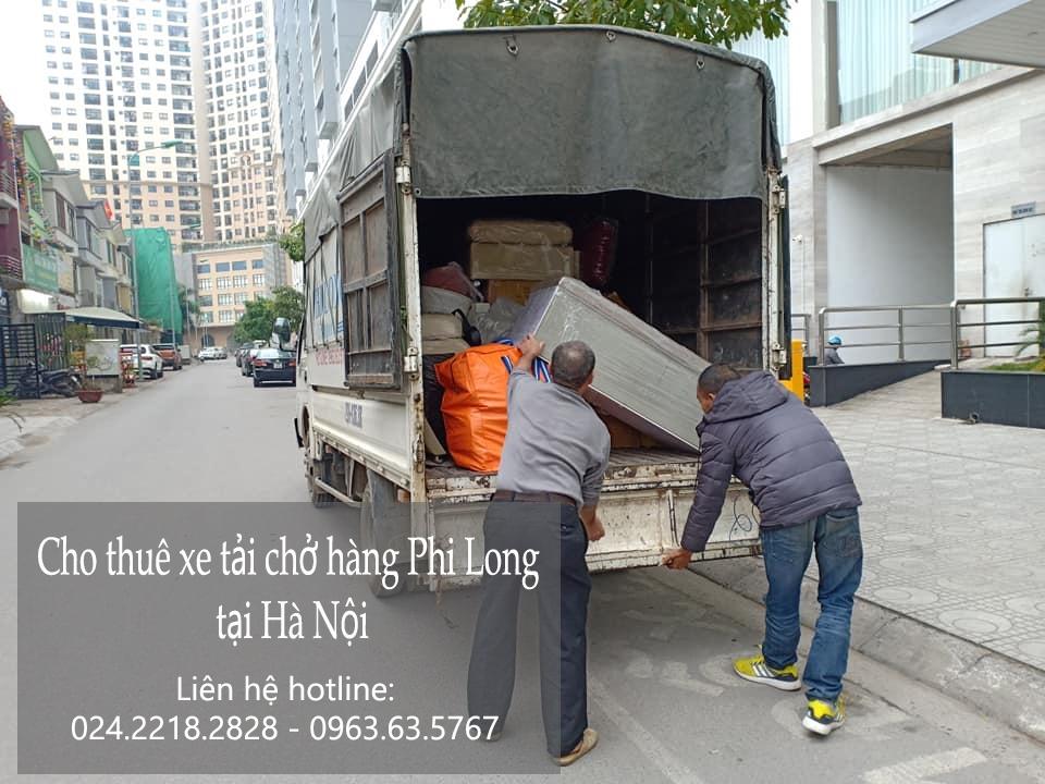 cho thuê xe tải Phi Long tại khu đô thị Ciputra