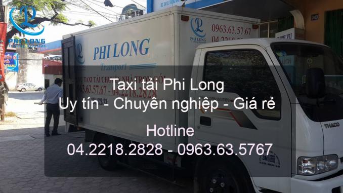 Taxi tải chở hàng tại đường Nguyễn Văn Cừ đi Ninh Bình