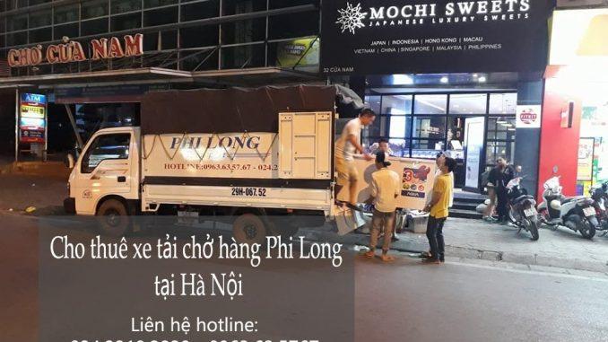 Dịch vụ taxi tải giá rẻ tại phố Tương Mai