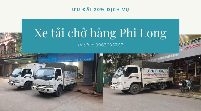 Taxi tải Hà Nội phố Hàng Bún đi Hòa Bình