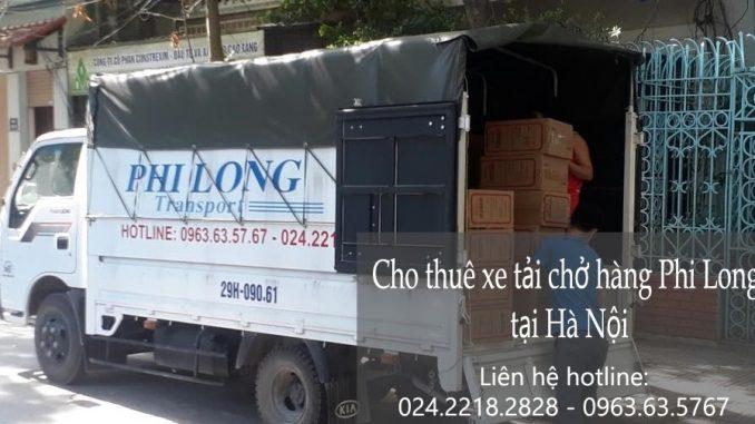 Dịch vụ taxi tải tại đường Kẻ Tạnh đi Hải Phòng