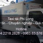 Dịch vụ taxi tải tại đường Nguyễn Hoàng đi Hải Phòng
