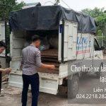 Taxi tải chuyên nghiệp tại đường Ngọc Thụy đi Tuyên Quang