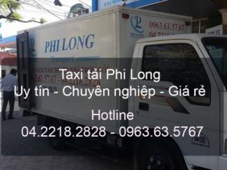 Taxi tải Hà Nội từ đường Thạch Bàn đi Hải Phòng